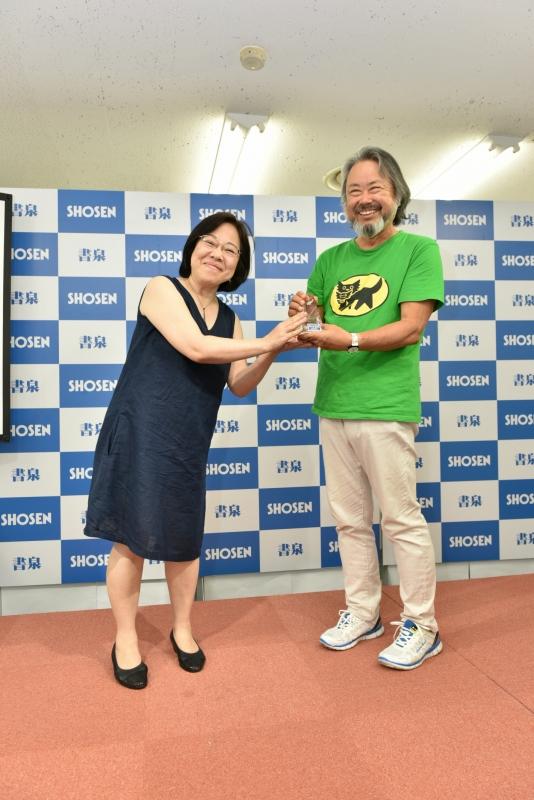 凛福子さん、前澤哲爾さん
